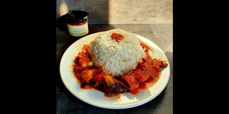 assiette rougail boucané