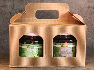 coffret confit de thé vanille et confit de géranium rosat