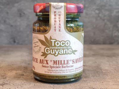 sauce mille saveurs de guyane