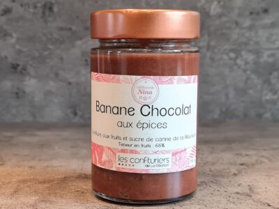 confiture banane chocolat aux épices
